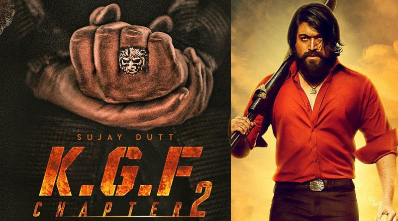 KGF chapter 2 poster of hand photo