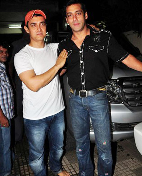 aamir khan with salman khan